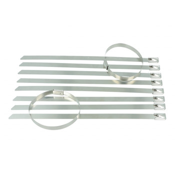 BOOST products Metal Cable Ties - Set of 10