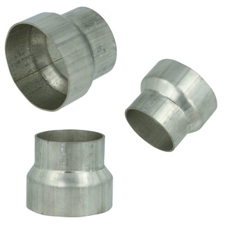 Stainless steel exhaust pipe reducer