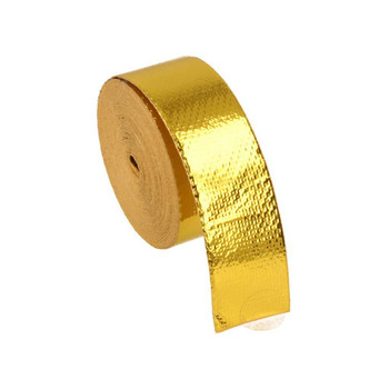 10m Heat Protection Tape - Gold | BOOST products