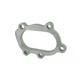 Stainless steel Downpipe flange 5-hole GT25 / GT28