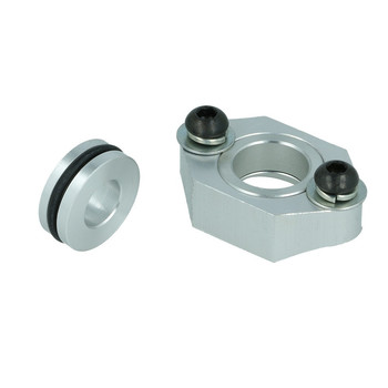 Aluminium Flange Adapter Semicircular for Map sensor -...