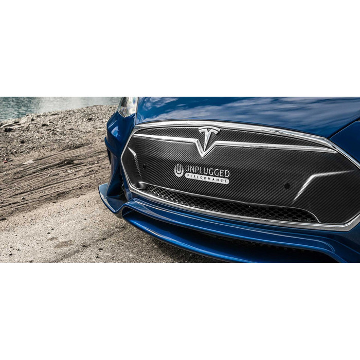 Unplugged Performance PU Flagship Frontbumper for Tesla Model S