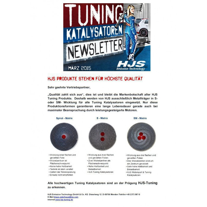 HJS Tuning Downpipe 76mm Skoda Superb 2.0 162 kW Euro 6