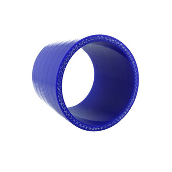 Silicone connector 76mm, 75mm length, blue | BOOST products