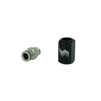 1 / 4 Nozzle Holder, (straight), Low Profile