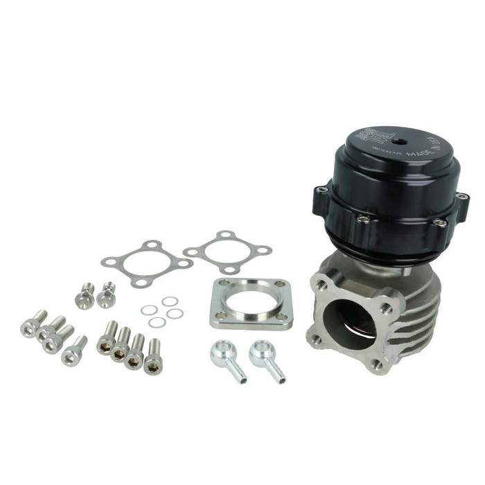 Wastegate TiAL F46P, black, 0,4 Bar